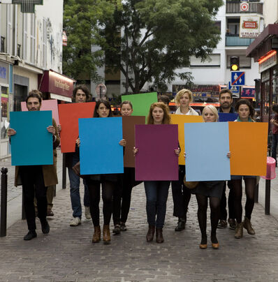 Davide Balula, 'Manifestation des couleurs', 2012