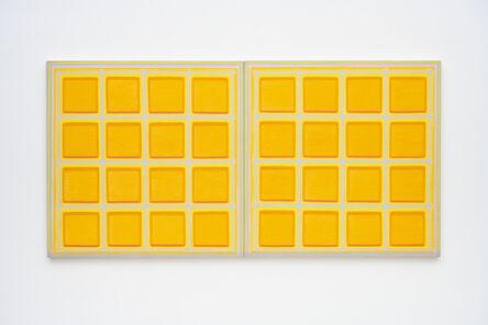 Dan Walsh, 'Orange Diptych', 2006