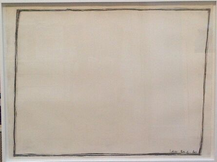 Bob Law, 'Untitled Drawing 30.6.60', 1960