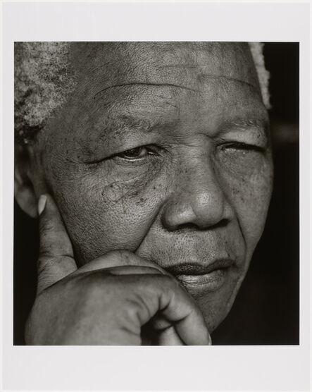 Herb Ritts, 'Nelson Mandela, Johannesburg', 1994