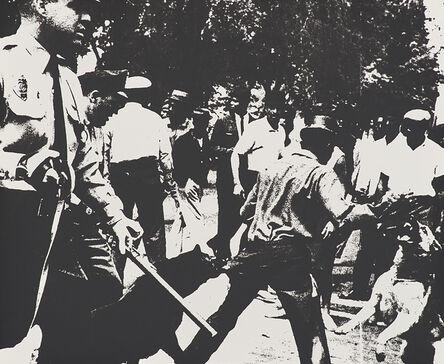 Andy Warhol, 'Birmingham Race Riot from Ten Works by Ten Painters', 1964