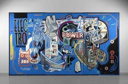 Speedy Graphito, 'Electroland', 1989