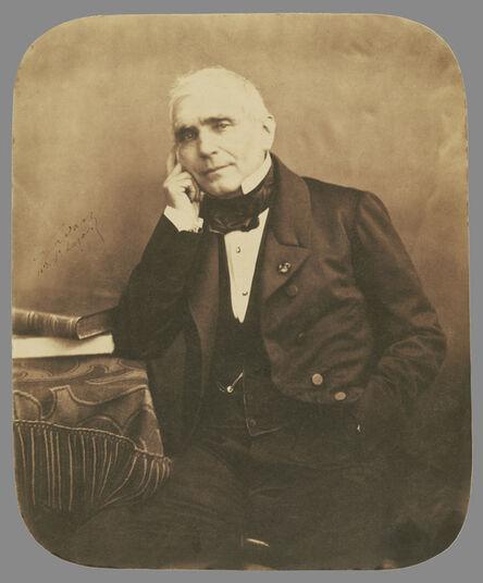 Nadar, 'Augustin-EugŠne Scribe (1791-1861) playwright, librettist', 1855-1859