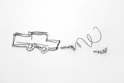 Petrit Halilaj, 'Abetare (Car with smoke)', 2020