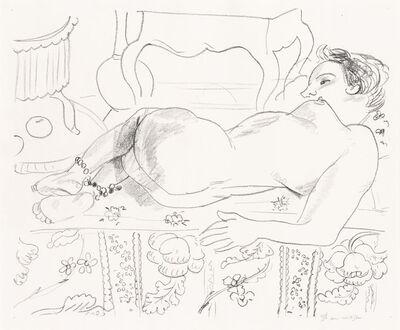 Henri Matisse, 'Nu Couché Sur Sol Fleuri (D. 503)', 1929