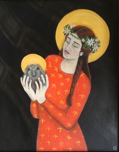 Claudia Bonney, 'Holy Hedgehog And The May Queen', 2020