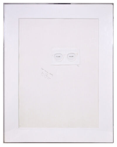 Jasper Johns, 'Critic Sees', 1967