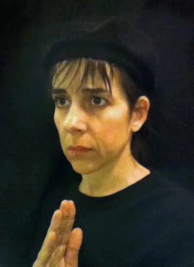"""Nina Katchadourian, 'Lavatory Self-Portrait in the Flemish Style #15 (""""Seat Assignment"""" project, 2010--ongoing)', 2011"""