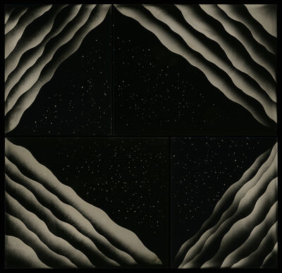 Nadezda Nikolova-Kratzer, 'Elemental Forms, Landscape Rearticulated no. 12', 2020