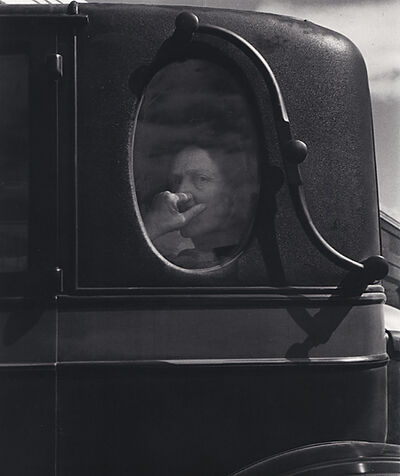 Dorothea Lange, 'Funeral Cortege, End of an Era in a Small Valley Town, California', 1938
