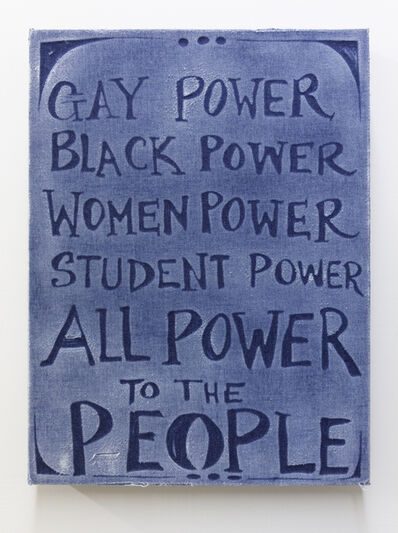 Gabriel Martinez (b. 1967), 'All Power to the People', 2019
