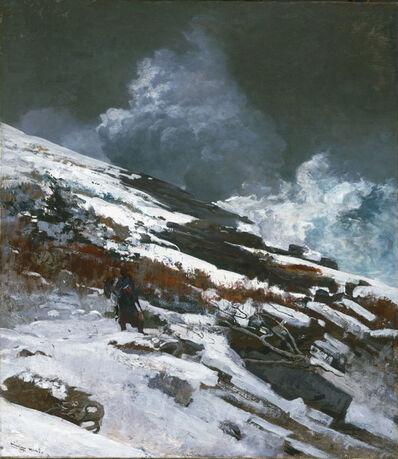 Winslow Homer, 'Winter Coast', 1890