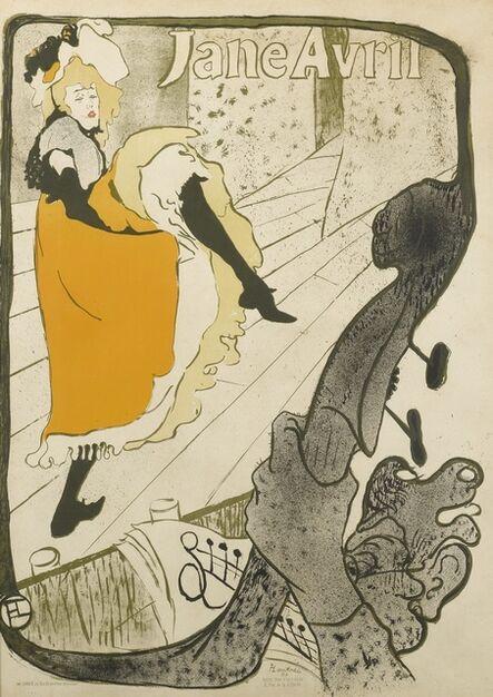 Henri de Toulouse-Lautrec, 'Jane Avril (D. 345; Adr. 11; W. P6)', 1893