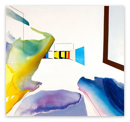 Laura Newman, 'Room (Abstract Expressionism painting)', 2013