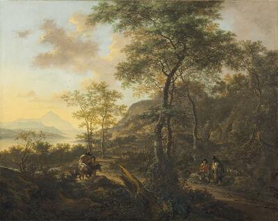 Jan Both, 'An Italianate Evening Landscape', ca. 1650