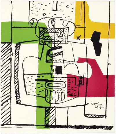 Le Corbusier, 'Dessins', 1962