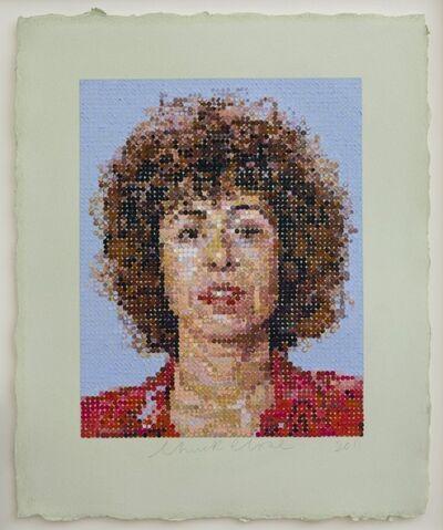 Chuck Close, 'Linda', 2012