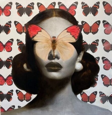 Anke Schofield, 'Madame Butterfly', 2021