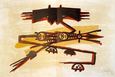 Wifredo Lam, 'El último viaje del buque fantasma ', 1976