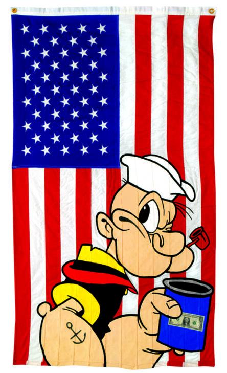 Ronnie Cutrone, 'Popeyepop', 1991