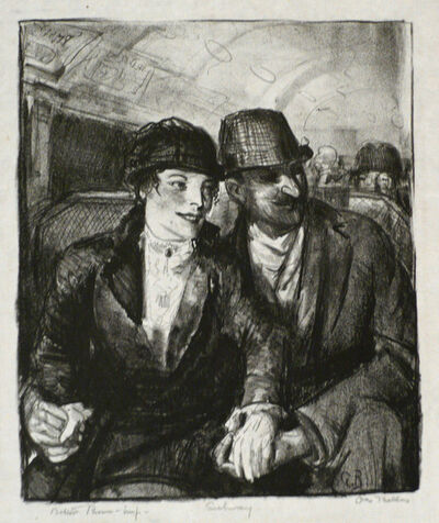 George Bellows, 'IN THE SUBWAY', 1921