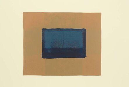 Howard Hodgkin, 'Indian View A', 1971