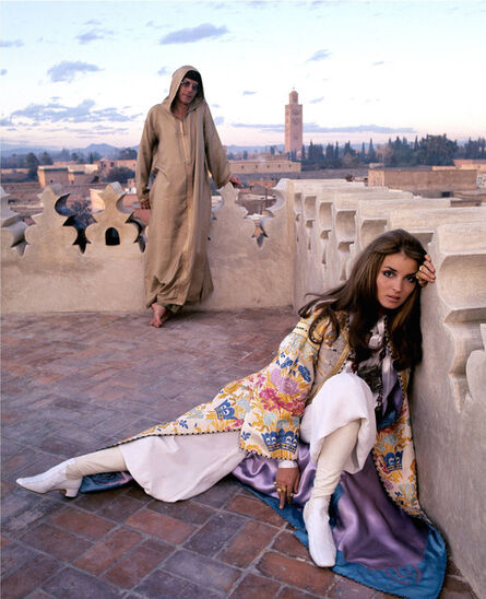 Patrick Lichfield, 'Paul and Talitha Getty, Marrakech, Morocco', 1969