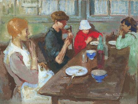 Edgar Chahine, 'Petit Dejeuner', 1942