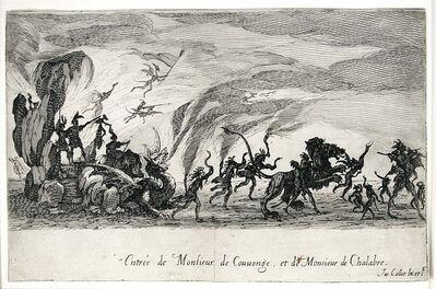 Jacques Callot, 'Le Combat a La Barriere (The Combat at the Barrier)', 1627