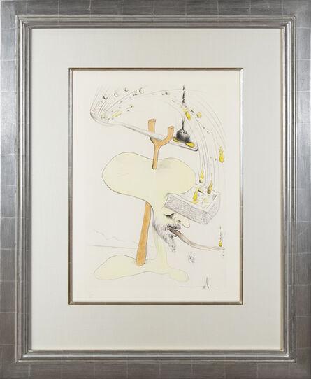 Salvador Dalí, 'Visions de Quevedo: Hommage à Quevedo', 1975