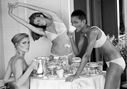 Arthur Elgort, 'Patti Hansen, Lisa Taylor, and Beverly Johnson, San Francisco, CA, Vogue', 1976