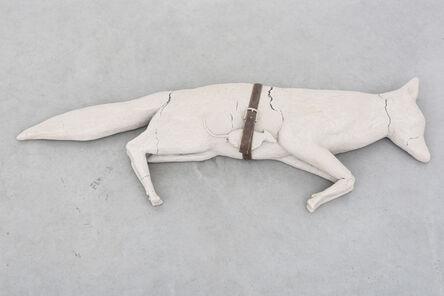 Mark Manders, 'Fox / Mouse / Belt (Dry)', 1992