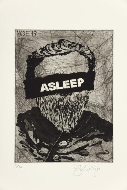 William Kentridge, 'Nose 19', 2009