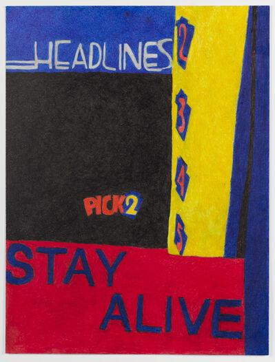 Anthony Campuzano, 'Pick 2 (Study)', 2017