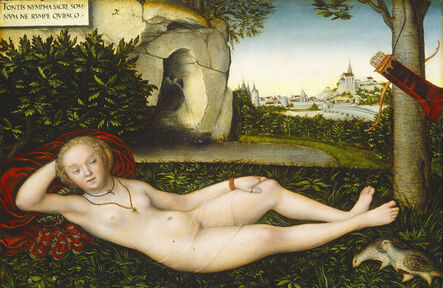 Lucas Cranach the Elder, 'The Nymph of the Spring', after 1537