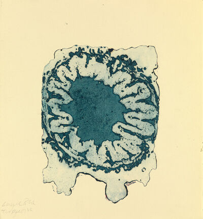 Helen Chadwick, 'Study for Arsehole (blue)', 1989