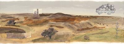 Calico Wallpaper, 'Moors', 2017