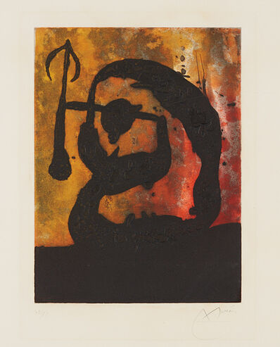 Joan Miró, 'Tête flèche (Arrowhead)', 1968