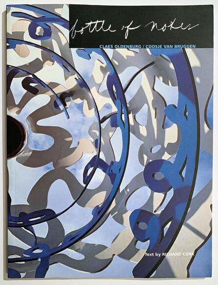 Claes Oldenburg & Coosje van Bruggen, 'Bottle of Notes: Claes Oldenburg and Coosje Van Bruggen Book', 1997
