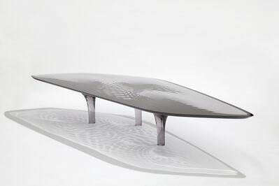 Zaha Hadid, 'Coffee Table 'Liquid Glacial' Colour', 2012