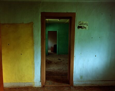 Steve Fitch, 'Hallway View Through A House In Ocate, Eastern New Mexico, August 31', 1991