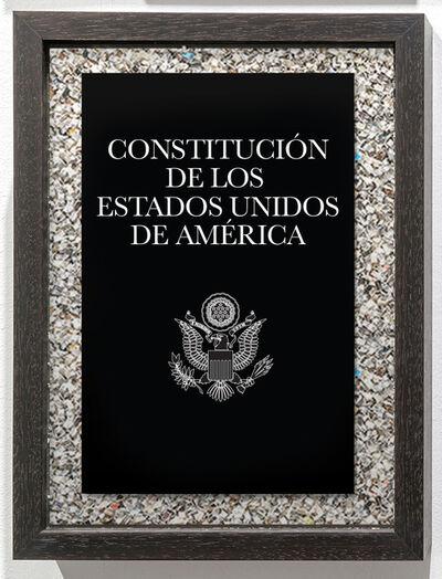 Eugenio Merino, 'Constitution of the United States America', 2020