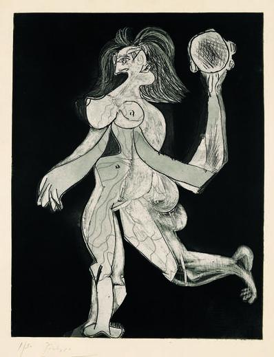 Pablo Picasso, 'La femme au tambourin (Woman with Tambourine)', 1939