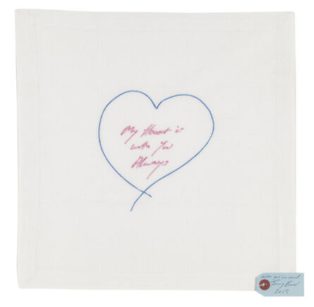 Tracey Emin, 'My Heart is With You Always', 2014