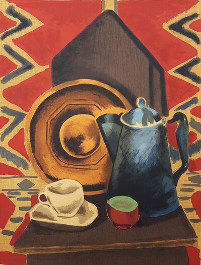 Man Ray, 'Untitled (Still Life with Coffee Pot, Cup and Saucer)', 1962