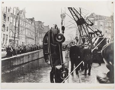 Ed van der Elsken, 'Amsterdam, Kloveniersburgwal', 1958