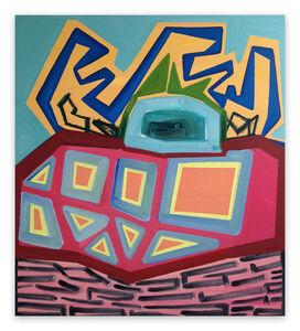 Ashlynn Browning, 'Cuckoo (Abstract painting)', 2017