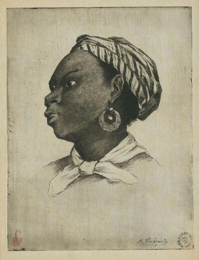 Henri-Charles Guérard, 'Une Négresse d'après Eva Gonzalès'