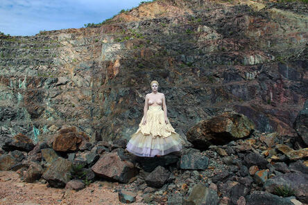 Carla Borba, 'Vestido de Pedra - Minas do Camaquã (Stone Dress - Minas do Camaquã)', 2012