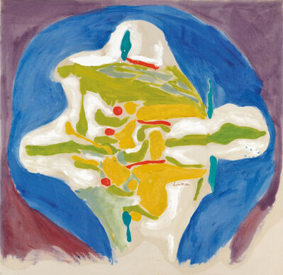 Helen Frankenthaler, 'Hilltown', 1962